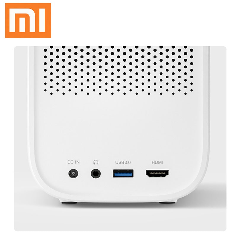 4K Video Xiaomi Mijia DLP Projector 1080P Full HD AI Voice Remote Control 2GB DDR3 8GB eMMC 2.4G / 5G WiFi 3D BT for Home Cinema 4