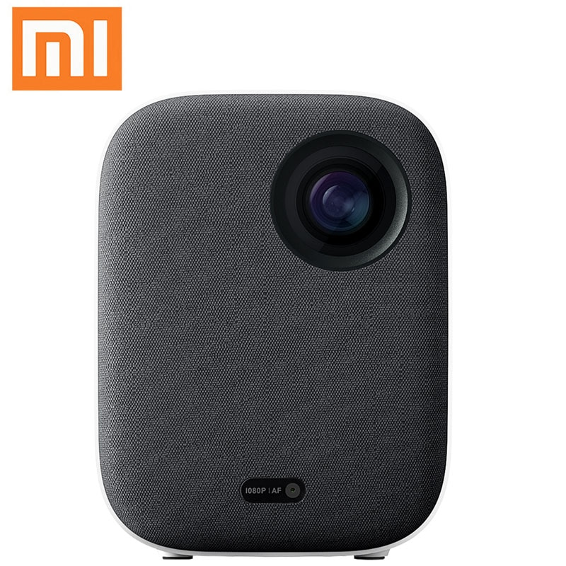 4K Video Xiaomi Mijia DLP Projector 1080P Full HD AI Voice Remote Control 2GB DDR3 8GB eMMC 2.4G / 5G WiFi 3D BT for Home Cinema 1