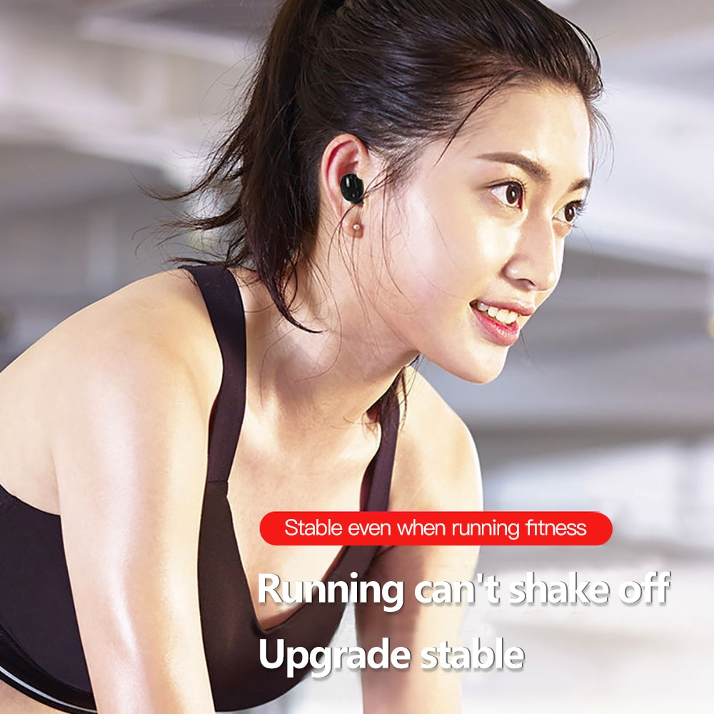 5.0 Mini Wireless Bluetooth Earphone Sport Gaming Headset with Mic Handsfree Headphone Stereo Earbuds For Iphone Samsung Xiaomi 4