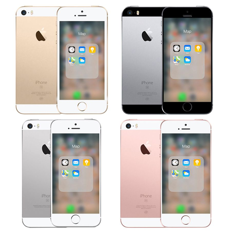 Dual-core Apple Iphone SE A1662 A1723 16GB 32GB 64GB ROM 2GB RAM Unlock Used Mobile Cell Phone 2