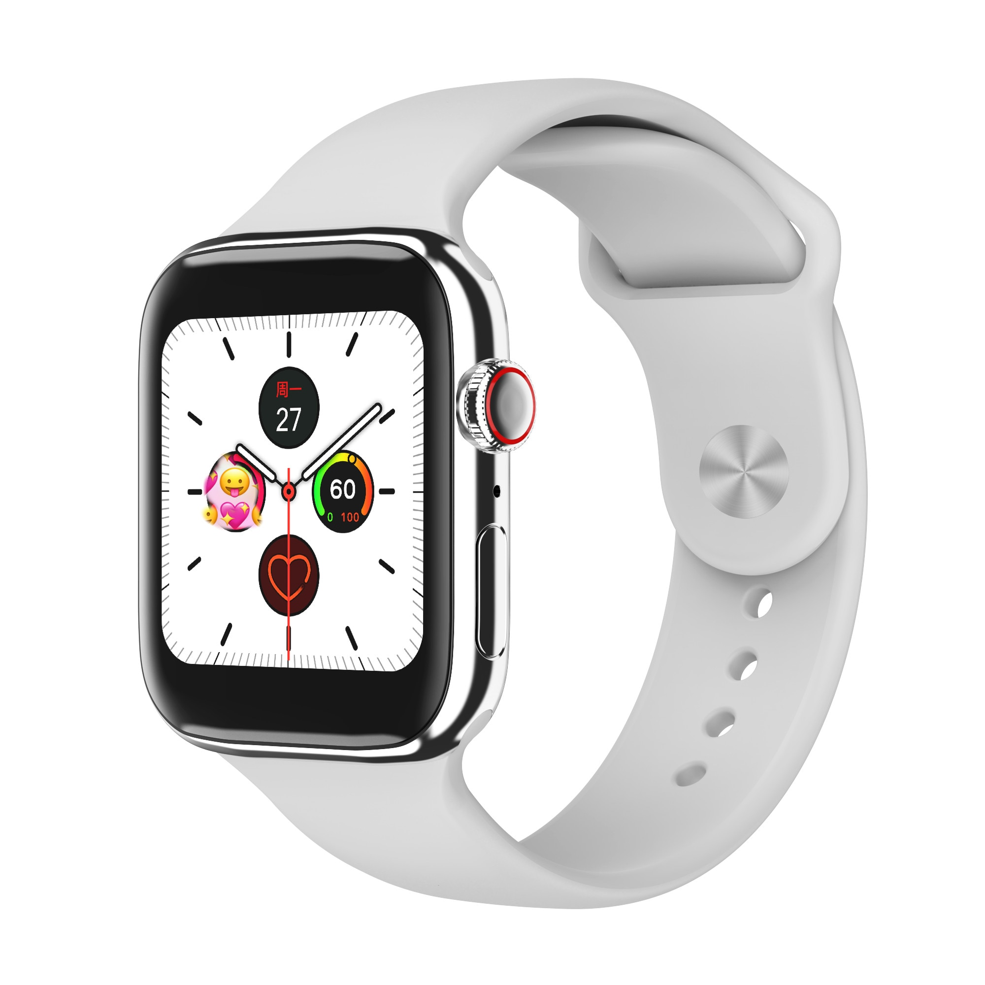 F18 men and women smart watches, fitness tracking bracelets, heart rate monitors, touch and keys, waterproof IP67 1