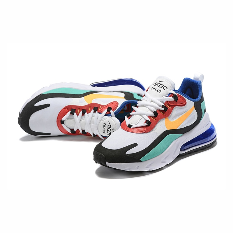 NIKE AIR MAX 270 RT (PS) Kids Shoes Original Parent-child Running Shoes Gym Sports Men Sneakers #BQ0102 2