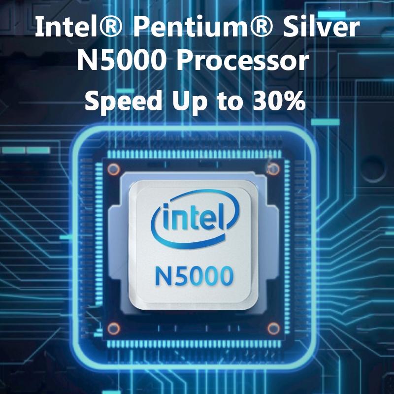 "Newest Laptop BMAX X13PLUS 13.3"" Intel Pentium Silver N5000 1920x1080 IPS Notebook 4GB RAM 64GB ROM Laptops Windows 10 Computer 3"