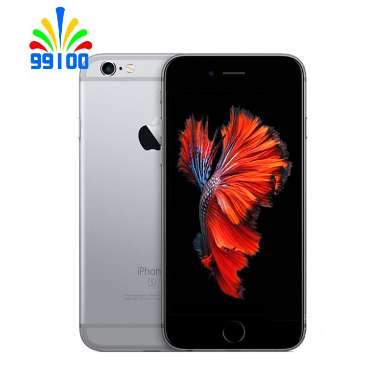 Used Original Unlocked Apple iPhone 6s Plus 5.5 inch 64bit Dual Core 1.8GHz 2GB RAM 16GB/32GB/64GB/128GB WCDMA 4G LTE 1