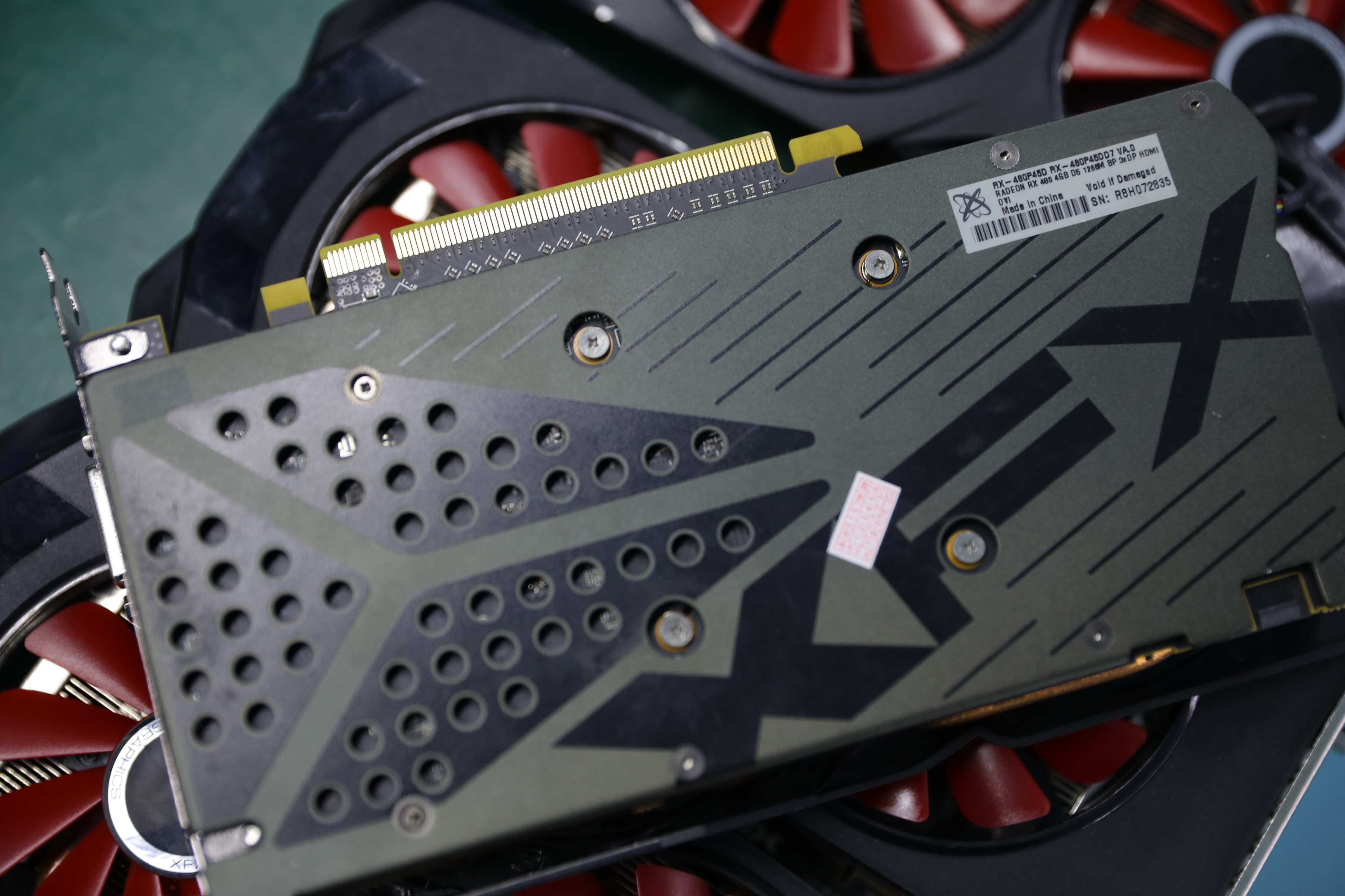 Used original XFX RX 480 4GB 256bit GDDR5 pc gaming graphics cards video card 480 4g 570 4gb xfx rx 480 4g xfx rx 480 4 gb 5