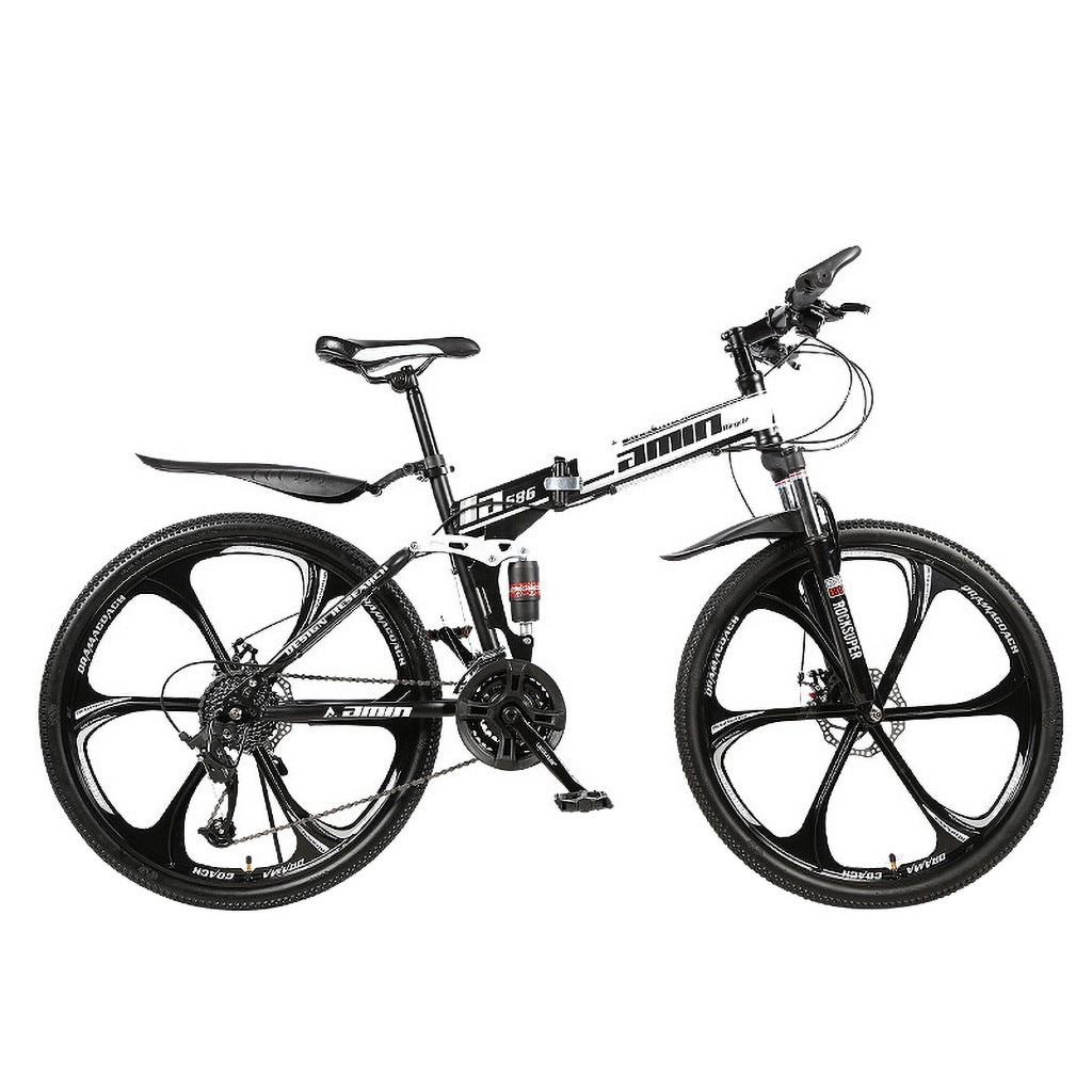 Men 26Inches Bicycle Foldable Mountain Bike 21 Speed Durable Steel Adults Bike Man Cycling sepeda lipat MTB bicicletas vtt 2020 2