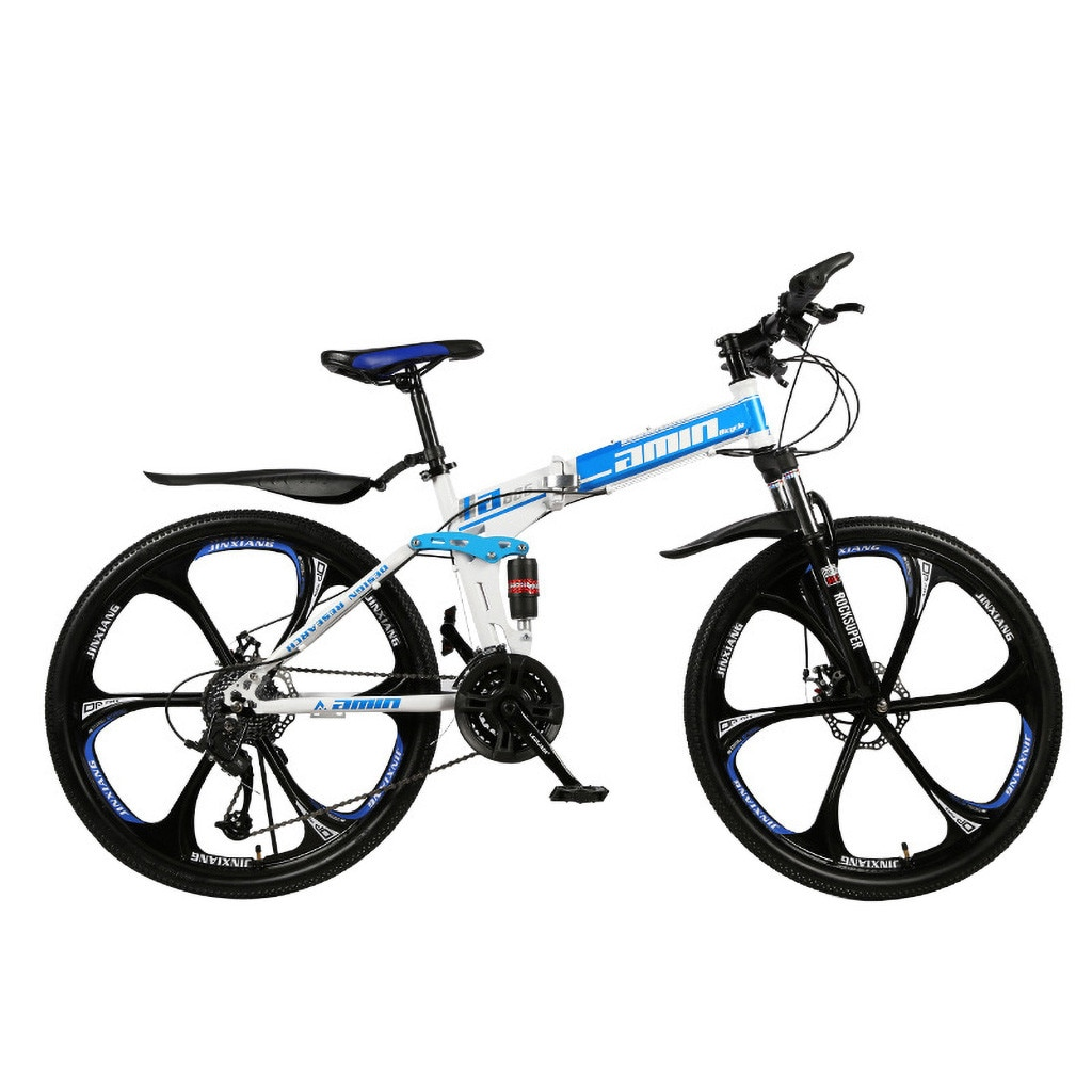 Men 26Inches Bicycle Foldable Mountain Bike 21 Speed Durable Steel Adults Bike Man Cycling sepeda lipat MTB bicicletas vtt 2020 3