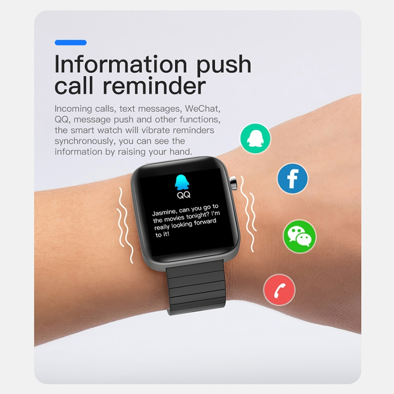 2020 NEW T68 smart watch body temperature detection ECG PPG waterproof camera weather Bluetooth sports pedometer smartwatch 5